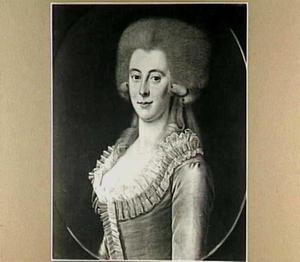 Portret van Isabella Boreel van Haersma (1763-1789)