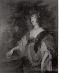 Portret van Lucy Percy, Countess of Carlisle (1599-1660)