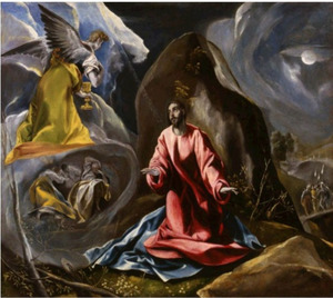 Christus in de Hof van Gethsemane