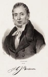 Portret van Christiaan Johannes Beekman (1778-1843)