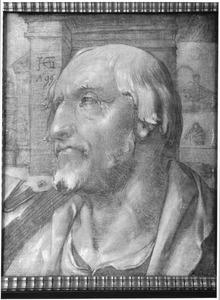 Portret van een onbekende geleerde