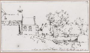 Landhuis met kapel bij Halle