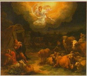 De verkondiging aan de herders (Lucas 2: 8-15)