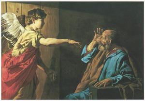 De bevrijding van Petrus uit de gevangenis (Handelingen 12:7)