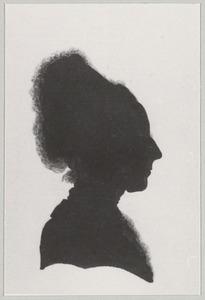 Portret van Elisabeth Wigg Sigal