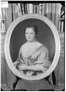 Portret van Johanna Catharina de Jongh