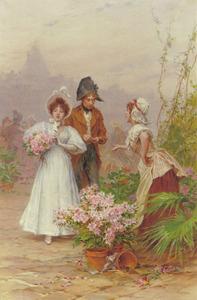 Bloemen kopen op straat