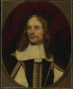 Portret van een man met lang haar