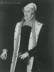 Portret van Anna von Lothringen
