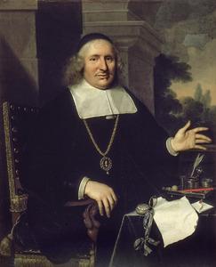 Portret van Gabriel van Marselis (1609-1673)