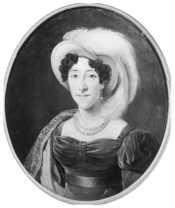 Portret van Anna Elisabeth Huydecoper (1796-1832)