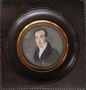 Portret van Paul van Vlissingen (1797-1876)
