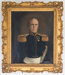 Portret van Volkert Willem de Villeneuve (1794-1855)