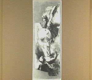 De aartsengel Michael bestrijdt  Lucifer