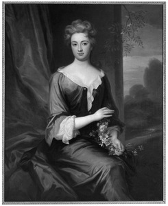 Portret van Geertruida Johanna Quirina van der Duyn (....-1741)