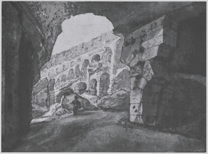 Gezicht in het Colosseum