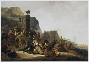 De dans om het Gouden Kalf (Exodus 32:1-19)
