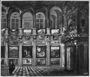 Schilderijenverzameling in het oude paleis Granvelle, Brussel