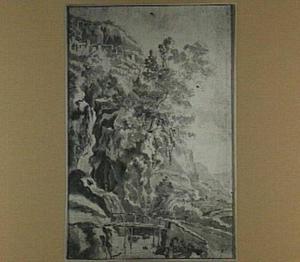 Italiaans berglandschap (Tivoli?)