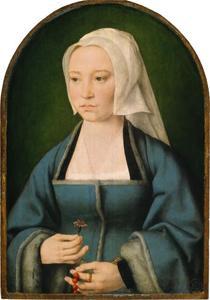 Portret van Margaretha Boghe