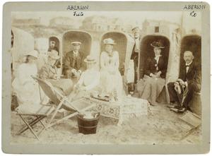 Portret van familie Aberson