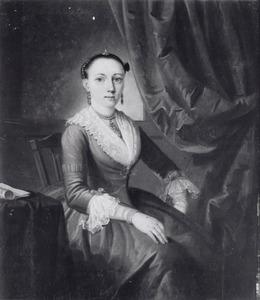 Portret van Christina Elisabeth Marci (....-....)