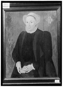 Portret van Lijsbeth van Boshuijsen (-1615)