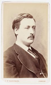 Portret van Diederik Gregorius Sloet van Zwanenburg (1847-1874)