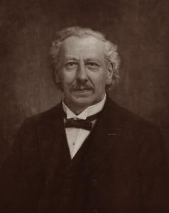 Portret van Tjalling Halbertsma (1841-1898)
