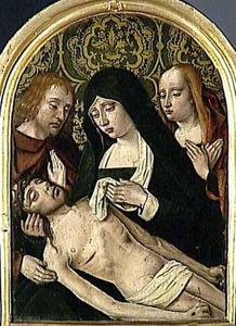 De bewening met Johannes en Maria Magdalena