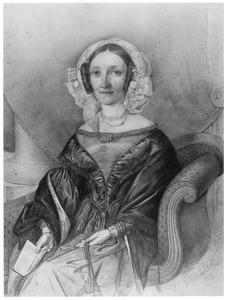 Portret van Alida Wilhelmina van den Berg (1803-1865)