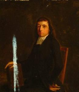 Portret van Hermanus Manger (1773-1844)
