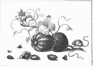 Huismuizen, meloenen en noten
