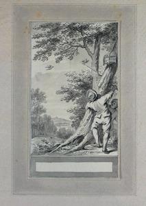 Illustratie bij 'De kwartel en de vlasvink' uit de Fabelen en vertelsels van F.C. Gellert