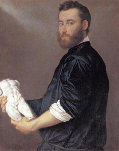 Portret van de kunstenaar Alessandro Vittoria (1525-1608)