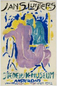 Jan Sluijters Stedelijk Museum Amsterdam (affiche-ontwerp)
