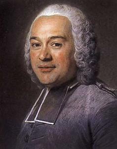 Portret van  Jean-Bernard (abbé) Le Blanc (1707-1781)