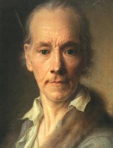 Zelfportrtet van Christian Seybold (1695-1768)