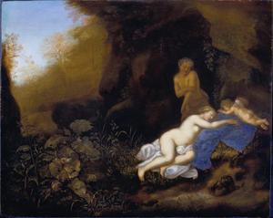 Jupiter en Antiope
