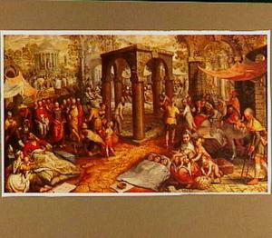 Christus geneest de lamme van Bethesda