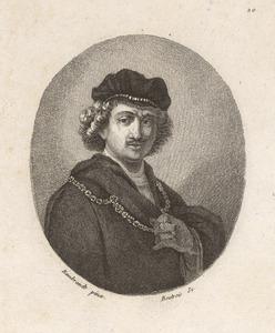 Rembrandts 'Zelfportret' met baret en gouden ketting