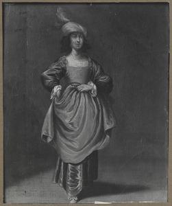 Jonge vrouw met tulband