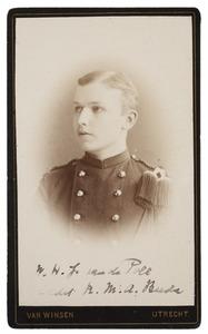 Portret van Willem Hendrik Joan van de Poll (1867-1921)