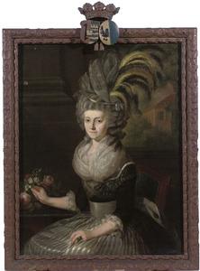 Portret van Charlotte Hahn