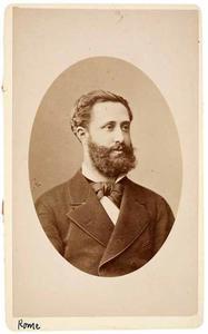 Portret van Caspar Johannes Koch (1847-1900)