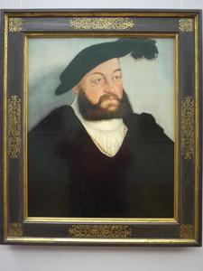 Portret van hertog Johann von Sachsen (1498–1537)