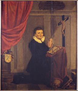 Memorietafel voor Albertus van Poelgeest (st. 1629)