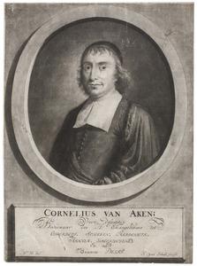 Portret van Cornelius van Aken (?-1702)