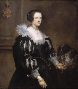 Portret van Anna Wake (?-?), chtgenote van Pieter Stevens