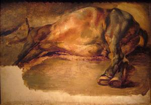 Een dood paard
